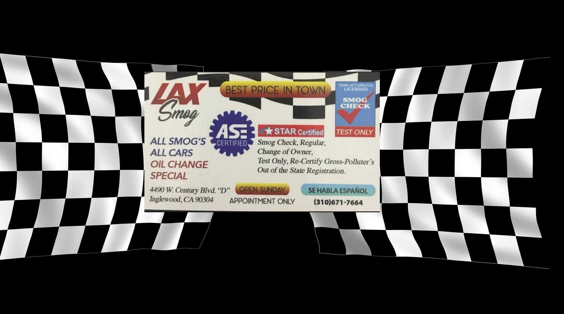Smog Check Prices Near Me >> Smog Check Inglewood Ca Smog Check Test Only Star Smog Check